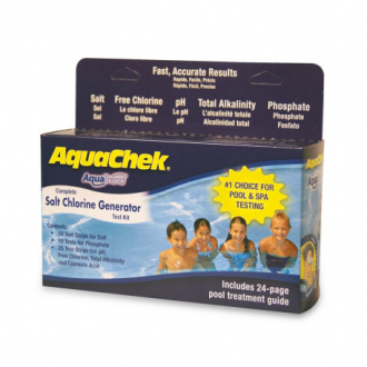 Tiras analíticas de la sal AquaCheck