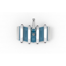 "LIMPIAFONDOS FLEXIBLE 350 1 1/2"" (CLIP) BLUE LINE"