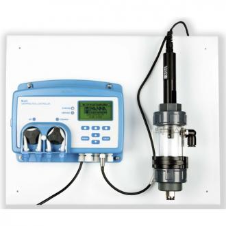 Controlador de pH/ Redox /Temperatura, con cámara de flujo
