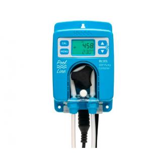 Bomba peristáltica de REDOX con electrodo amplificado de REDOX/Tª, con conexión tuberia