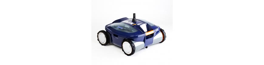 Robots y limpiafondos automáticos